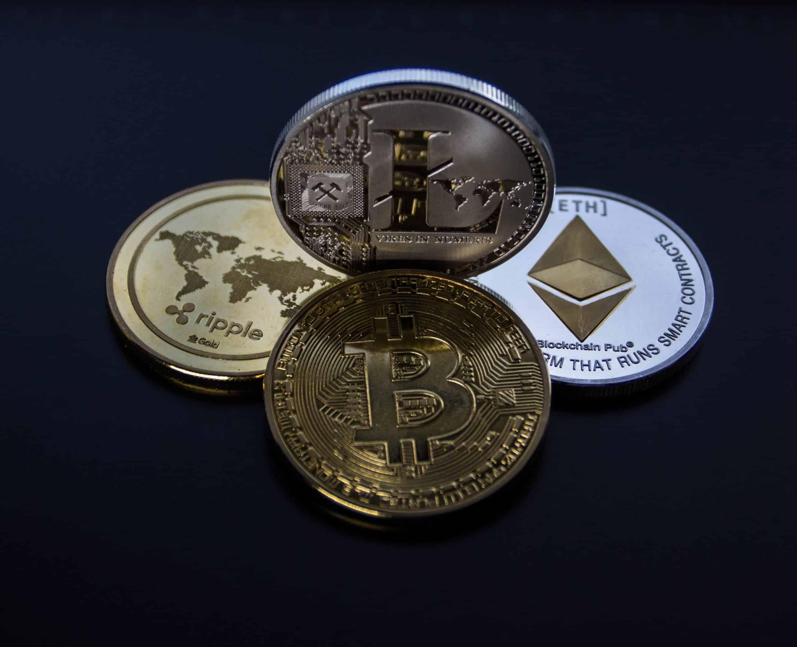 Krypto Währung als digitale Münzen