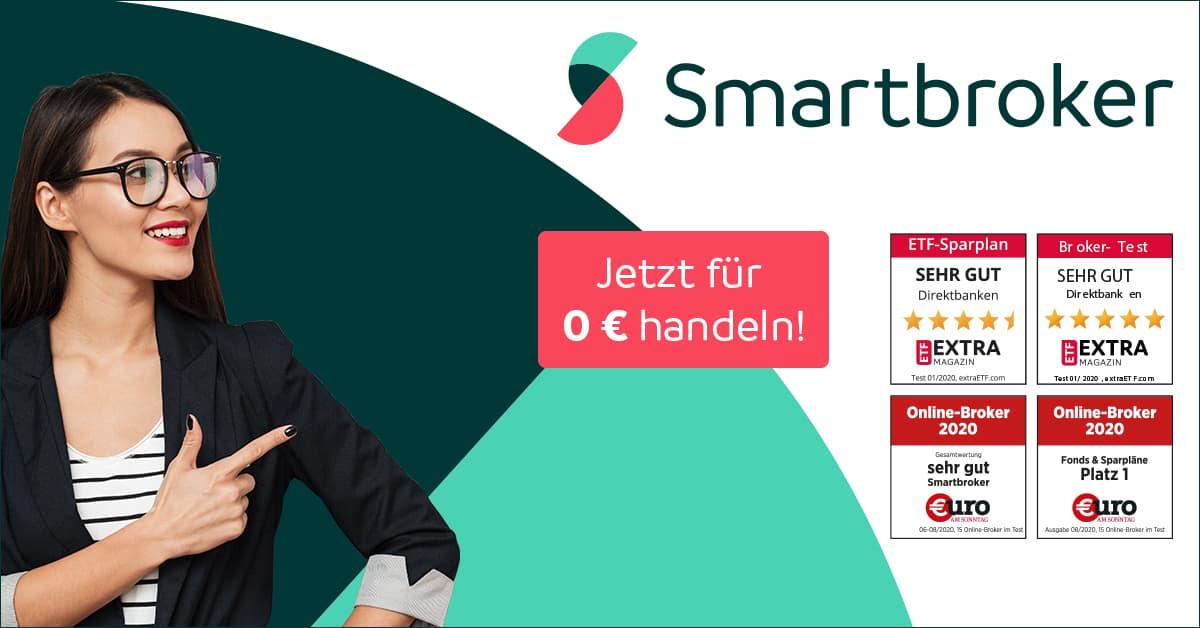 Smartboker Erfahrungen Logo - Kostenloses Depot für 0,00 EUR