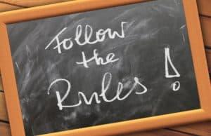 Wertpapiere - unbedingt die Regeln beachten!